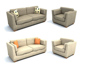 couch armchair upholstered max