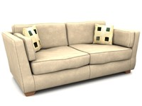 3 Couch collection with arm chairs