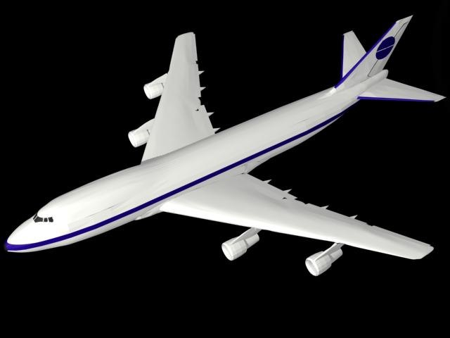 3ds max beoing 747