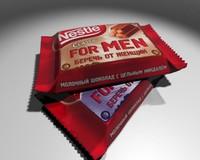 nestle bar 3d model
