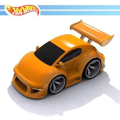 hotwhweel car 3d model