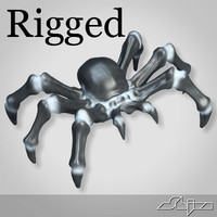 Spider Rigged