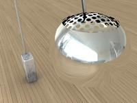arco lamp 3d model