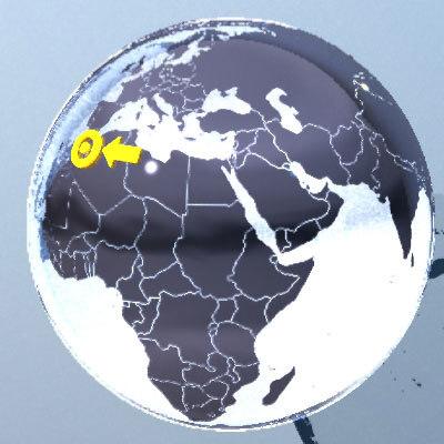 world maps 3d model