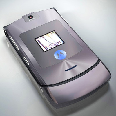 phone motorola razr v3i 3d model