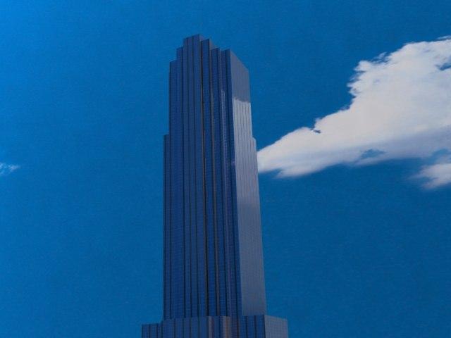 transco tower skyscrapers 3d 3ds