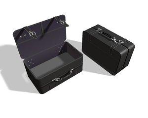 suitcase travel 3d max