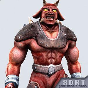 3d fantasy monster