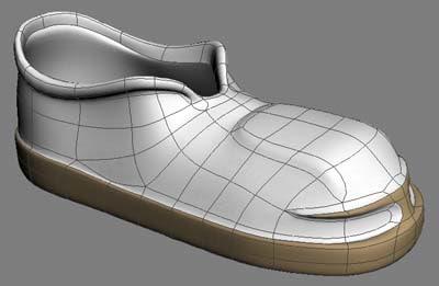 boot 3d model