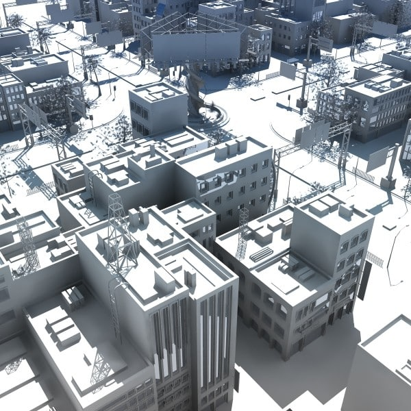 3ds max highstreet city road