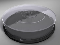 spindle cd dvd 3d c4d