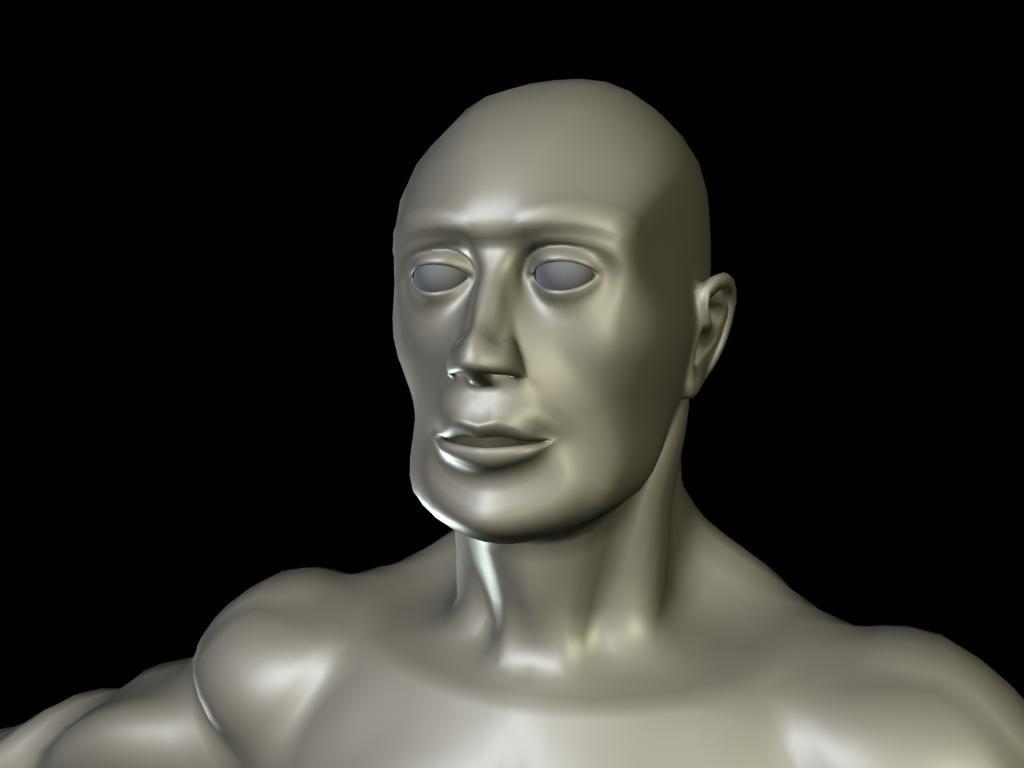 3d model man