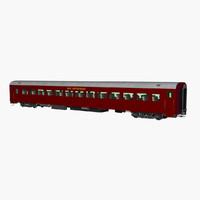 pullman train 3d model