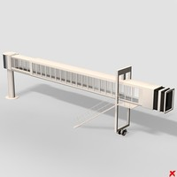 3d airport gate