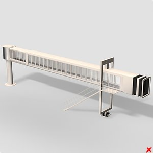 3d airport gate