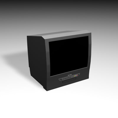 television dvd c4d free