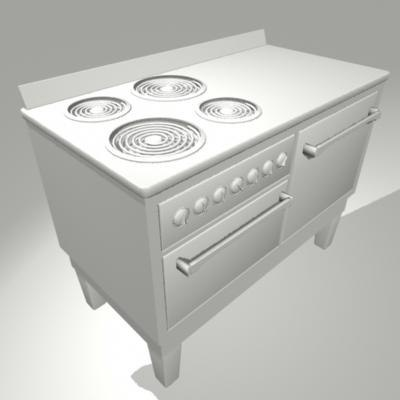1930 s antique stove 3d ma