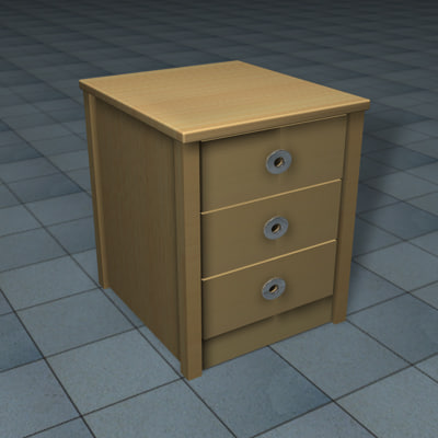 drawer table c4d free
