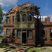 destroyed house max