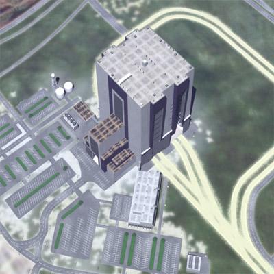 maya vehicle assembly building