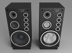tonsil altus speakers 3d max
