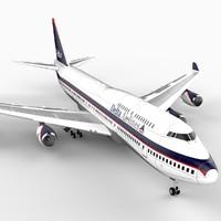 747-400 Airliner (Delta Airlines)