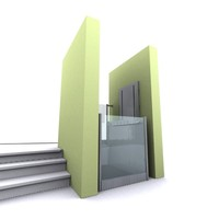 dda lift platform 3d model