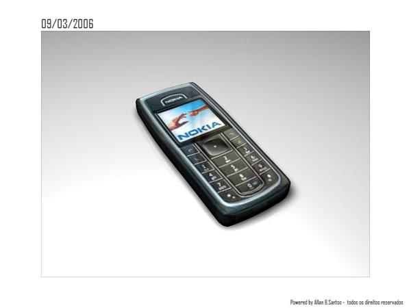 3d model mobile phone