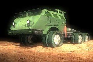 3ds max tank transporter