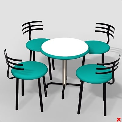 free max model table set
