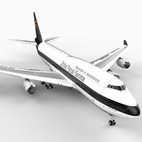 B Seven 47-400 Airliner (UPS)