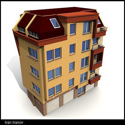 3dsmax building07 building