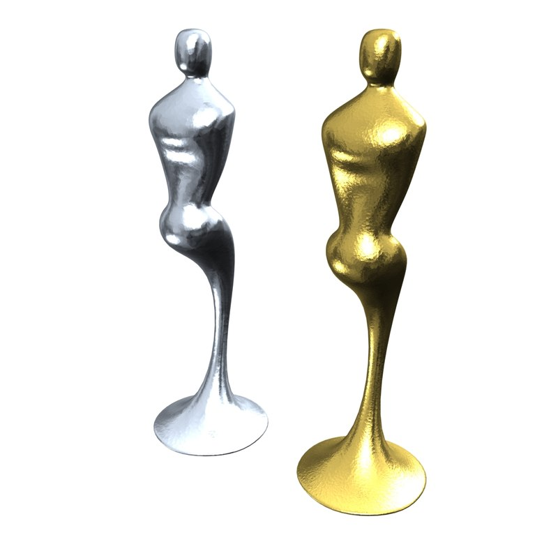 mannequin shape dummy 3d model