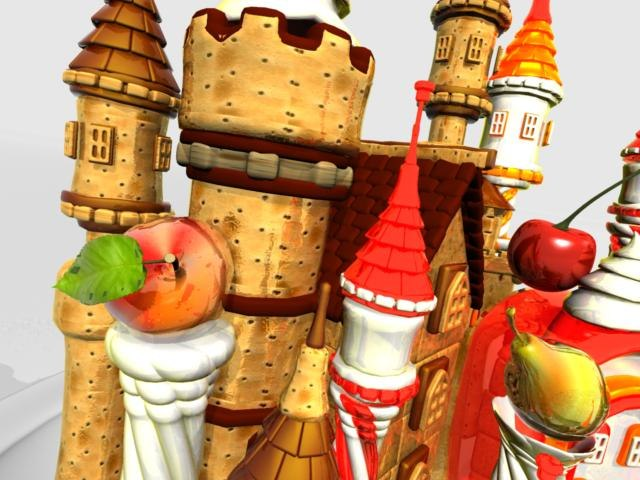 lwo castle sweets candies