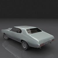3d pontiac gto 1968 model
