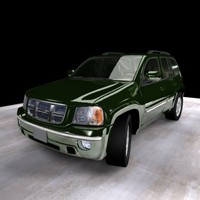 3d model 2004 isuzu ascender