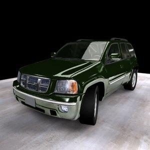 3d model 2004 isuzu ascender