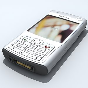 nokia n70 cellular phone 3d max