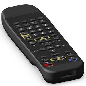 3d remote control model