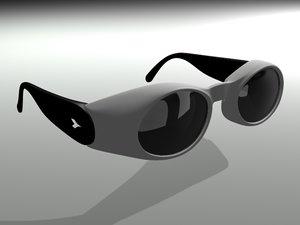 sportstyle sunglasses 3d max