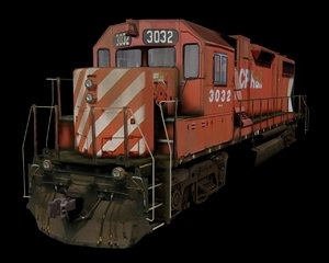 canadian pacific 3d model