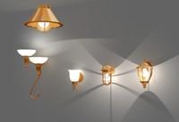 3d model light fixtures