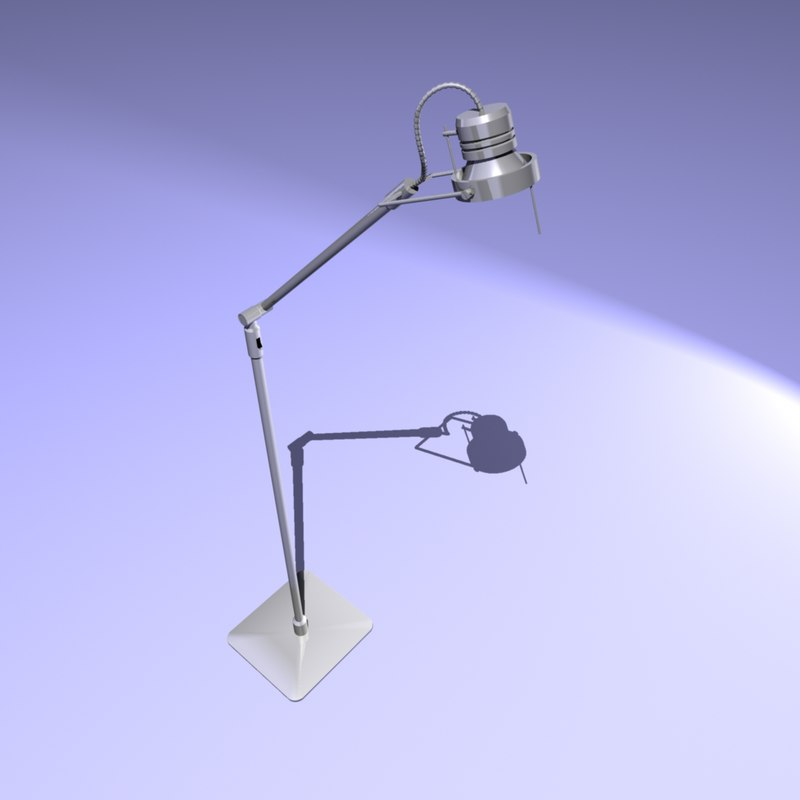 modern halogen lamp 3d ma