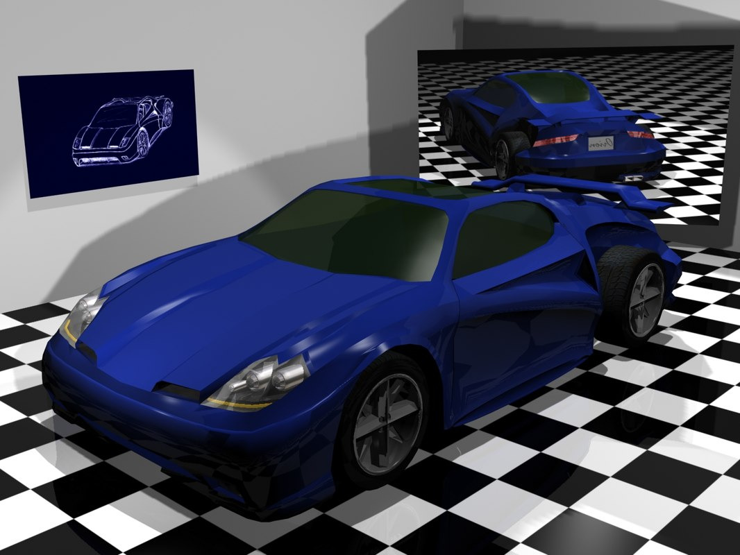 model orion concept car
