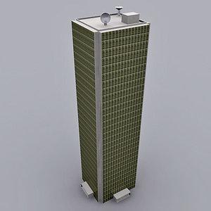 3d skyscrapers buildings model