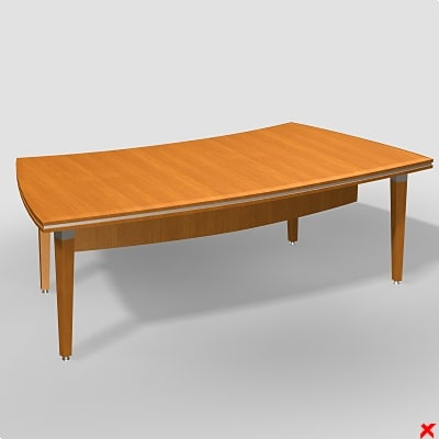 writing table 3d max