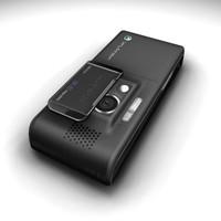 sonyericsson k800i k790i cell phone 3d max