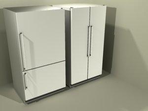 refridgerators 3d max