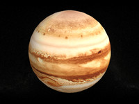 3ds max planet jupitor