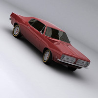3d max cuda barracuda 1968